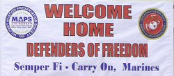 Welcome Home Defenders of Freedom
